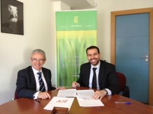 Acuerdo Grupo Trevenque y AJE Granada