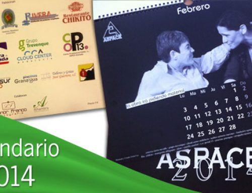 Calendario solidario 2014 de Aspace Granada