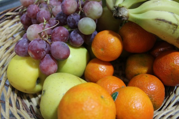 Cada día, un proveedor de fruta proporciona 11 kilos a los trabajadores de la empresa. / G. T.