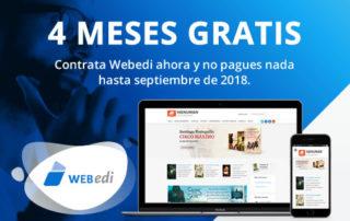 Promoción especial Webed