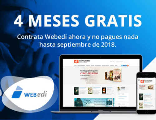 Promoción especial Webedi, 4 meses