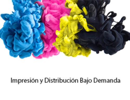 Proceso de impresión y distribución POD