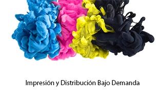 Impresión y distribución bajo demanda