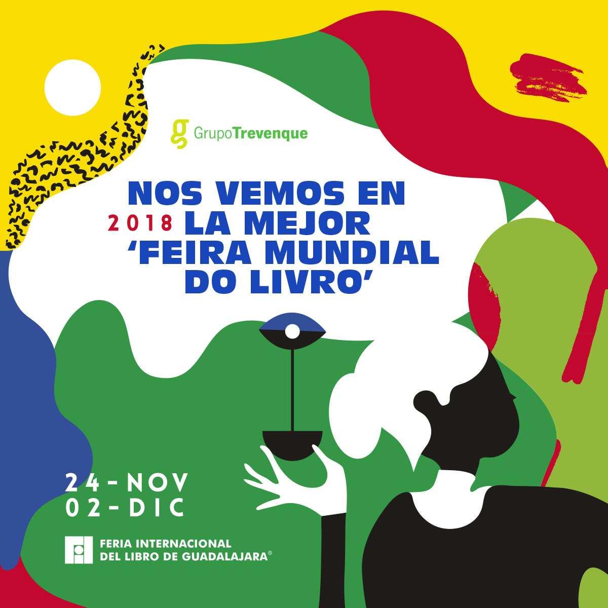 Estaremos presentes en la Feria Internacional del Libro de Guadalajara...