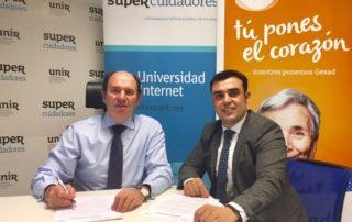 Aurelio López-Barajas, CEO de Supercuidadores, y Chema Prados, Director de Gesad del Grupo Trevenque