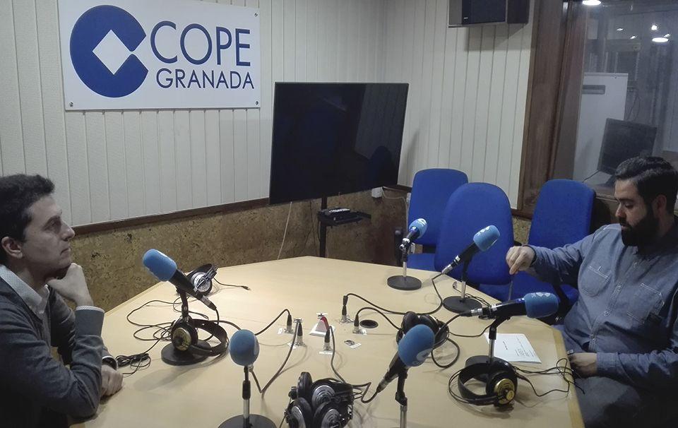 José Fernando López Navarro y Fran Viñuela, en COPE Granada
