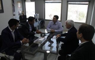 Visita del director general de JETRO a Grupo Trevenque