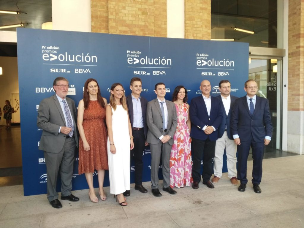Entrega de los Premios E>olución de Diario Sur