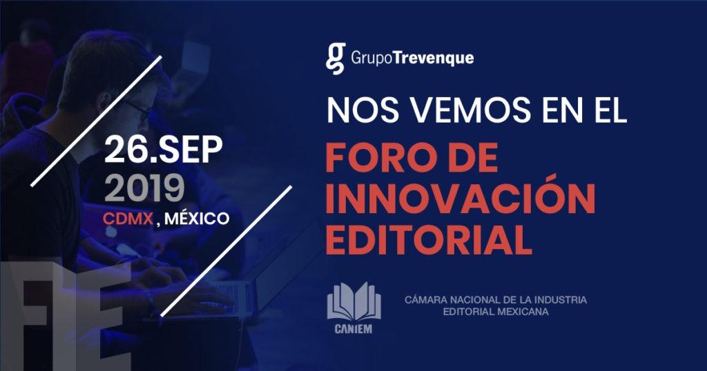 Grupo Trevenque participará en el Foro de Innovación Editorial