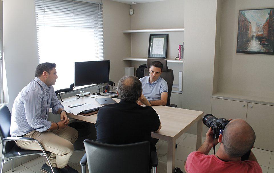 José Fernando López Navarro, en una entrevista con Granada Digital