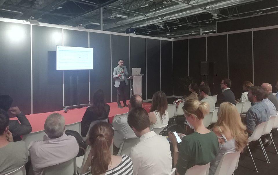 Presentación de José Manuel Castro durante LIBER 2019