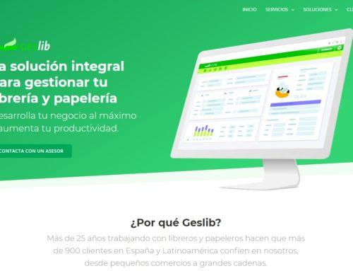 Geslib estrena una nueva web más visual y completa en la semana del D...