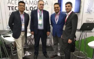 Equipo de Grupo Trevenque desplazado a la FIL 2019