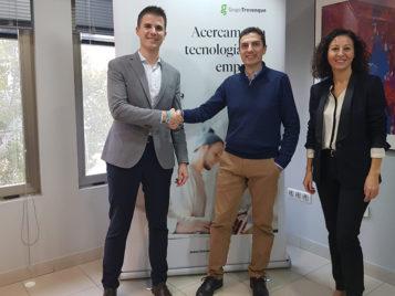 Convenio entre el Club de Marketing de Granada y Grupo Trevenque