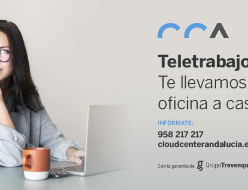 Teletrabajo: Cloud Center Andalucía te lleva la oficina a casa