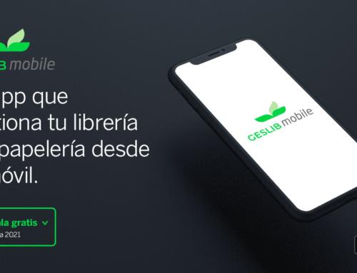 Geslib Mobile: La app para gestionar tu librería y/o papelería desde...