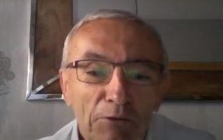 Juan Ramón Olmos Vico, durante su intervención en torno al sector TIC tras el COVID-19