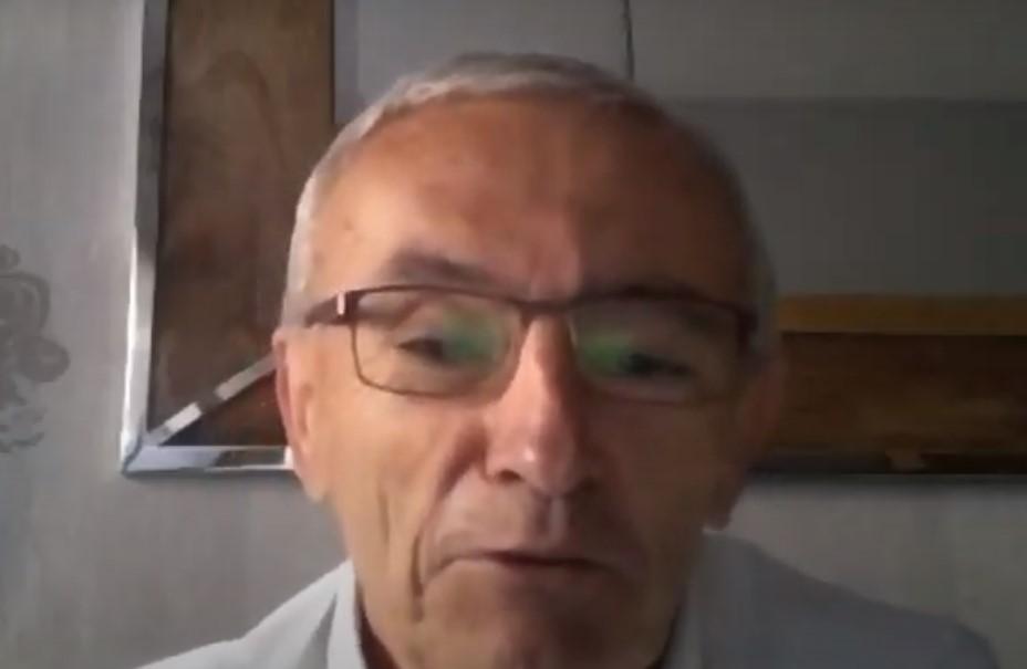 Juan Ramón Olmos Vico, durante su intervención en torno al [...]</p srcset=