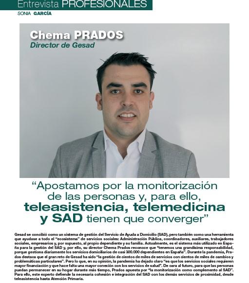 Entrevista a Chema Prados en Balance Sociosanitario