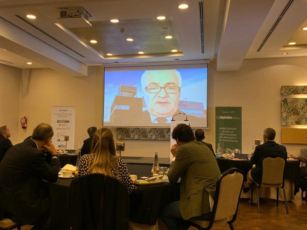 Intervención de Vito Epíscopo en el evento de Transformación Digital organizado por La Opinión de Málaga