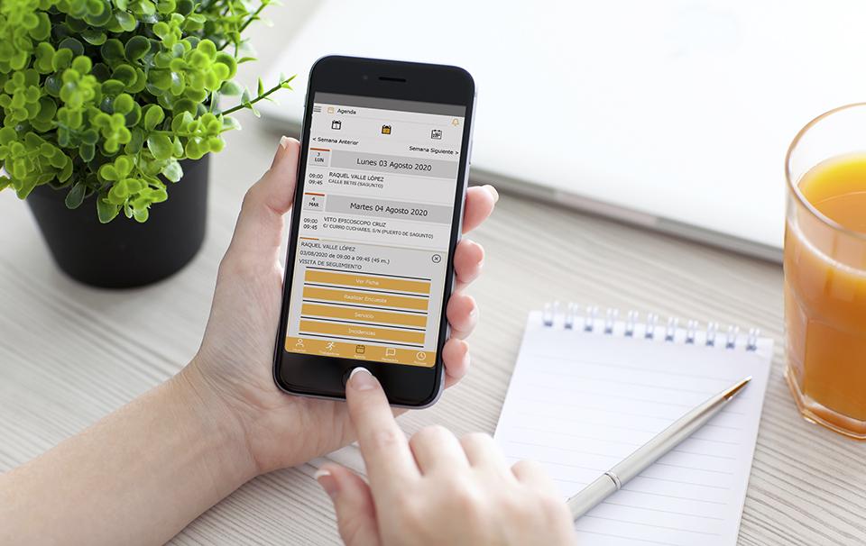 Llega Gesad Mobile, la app que hace más fácil la gestión del Servicio de Ayuda a Domicilio