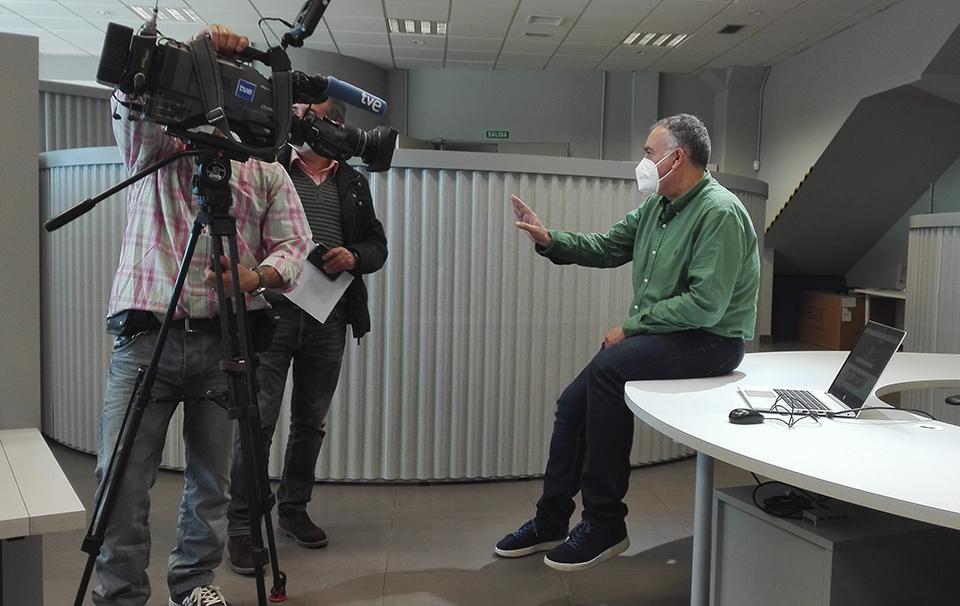 Presentamos la plataforma Todostuslibros en el informativo de RTVE
