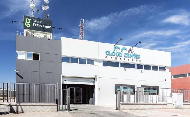 Vista de Cloud Center Andalucía