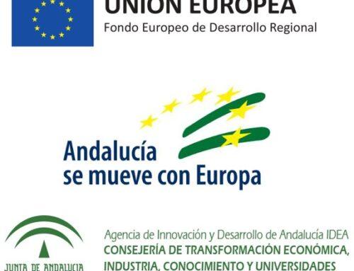 Incentivo de la Agencia IDEA, cofinanciado por la UE, para el proyecto...