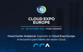 Cloud Center Andalucía, expositor en Cloud Expo Europe - Madrid Tech Show